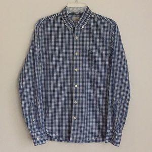 J. Crew Size Medium Men's Plaid Button Down Shirt